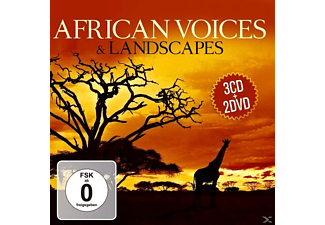 VARIOUS - African Voices & Landscapes - (CD + DVD)