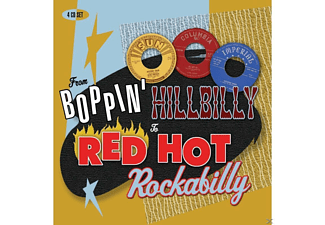 VARIOUS - From Boppin' Hillbilly To Red Hot Rockab - (CD)