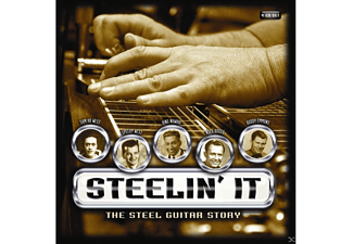 VARIOUS - Steelin'it:The Steel Guitar.. - (CD)
