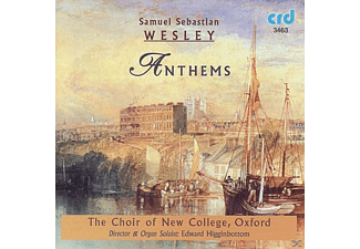 Edward/choir Of New College Oxford Higginbottom - Wesley:Anthems - (CD)