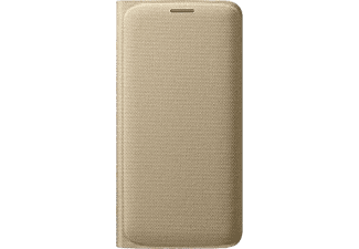 SAMSUNG Flip Wallet Fabric Galaxy S6 Edge - Guld