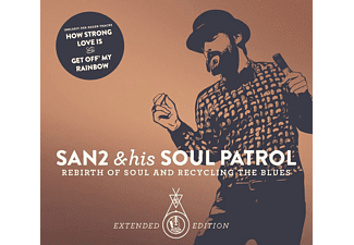 San2 And His Soul Patrol - Rebirth Of Soul & Recycling The Blue (Extended Edition) - (CD)