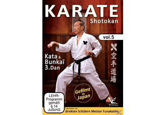 Karate Shotokan Vol.5 Kata & Bunkai 3.Dan [DVD]