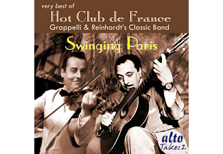 Django Reinhardt, Stéphane Grappelli, Quintet Of The Hot Club De France - Swinging Paris - (CD)