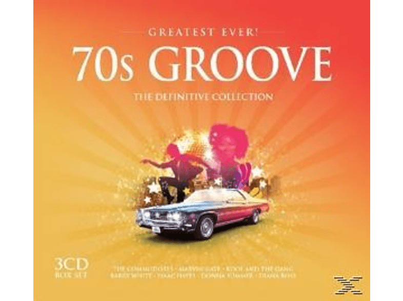 VARIOUS - 70s Groove-Greatest Ever [CD]