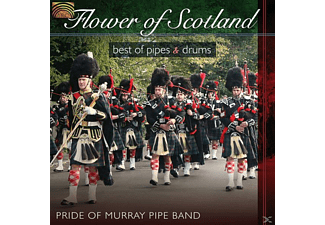 Pride Of Murray Pipe Band - Flower Of Scotland [CD]