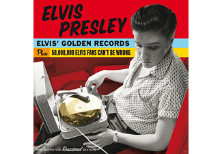 Elvis Presley - Elvis' Golden Records & 50.000 - (CD)