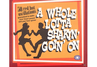 VARIOUS - A Whole Lotta Shakin' Going' On - (CD)
