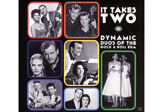 VARIOUS - It Takes Two: Dynamic Duos Of Rock & Roll [CD]