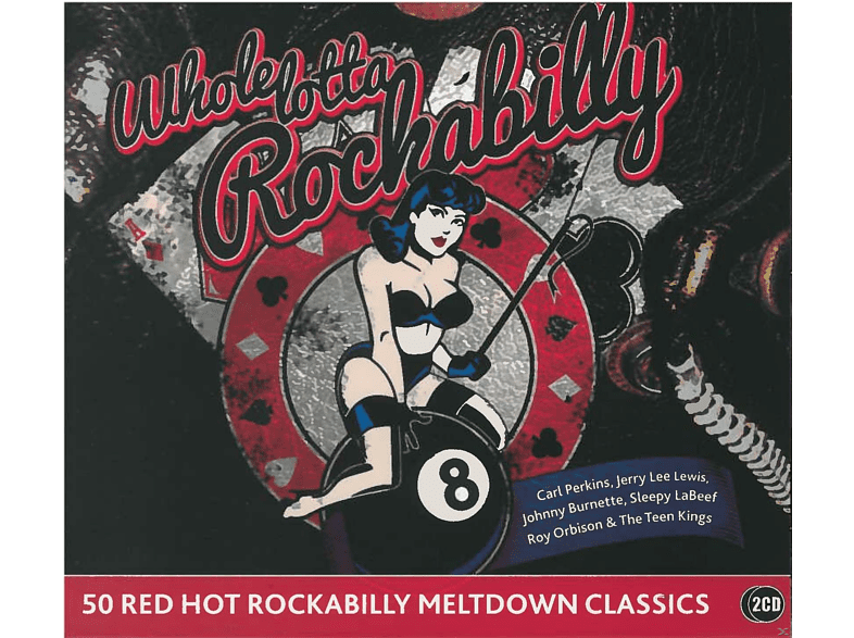 VARIOUS - Whole Lotta Rockabilly [CD]