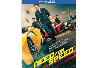Need For Speed 3D BD&2D BD, Blu-ray