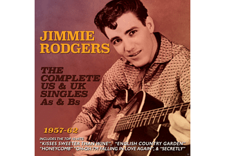 Jimmie Rodgers - Complete Us & Uk Singles 1957-62 - (CD)