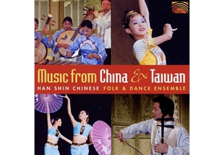 Hanshin Chinese Folk Dance Ens - Music From China And Taiwan - (CD)