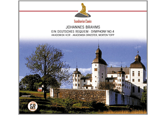 Morten Topp, VARIOUS - Ein Deutsches Requiem (Brahms, Johannes) - (CD)