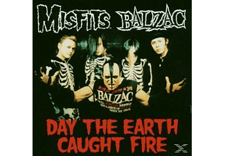 Balzac - Day The Earth Caught Fire - (CD)