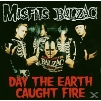 Balzac - Day The Earth Caught Fire [CD 3 Zoll Single (2-Track)]