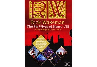 Rick Wakeman - The Six Wives Of Henry Viii - Live At Hampton Court Palace - (DVD)