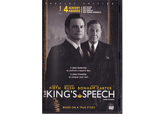 THE KING'S SPEECH S.E. DVD