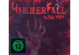 Hammerfall - Infected - (CD + DVD Video)