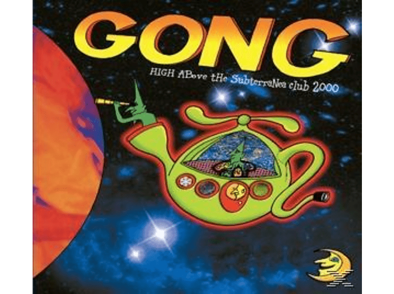 Gong - High Above The Subterranea Club 2000 [CD + DVD]