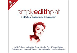 Edith Piaf - Simply Edith Piaf (CD)