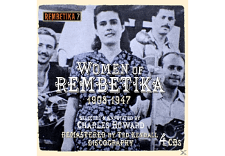 VARIOUS - Women Of Rembetika 1908-1947 - (CD)