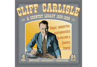 Cliff Carlisle - A Country Legacy 1930-39 - (CD)