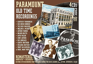 VARIOUS - Paramount Old Time Recordings - (CD)