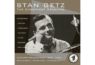 Stan Getz - The Smoothest Operator - (CD)