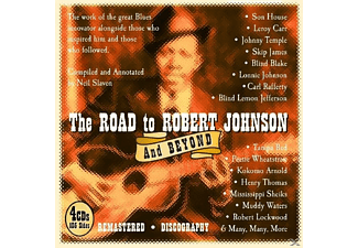 Robert Johnson - The Road To Robert Johnson And Beyond - (CD)
