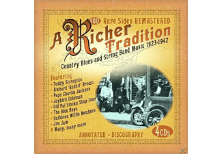 VARIOUS - A Richer Tradition. Country Blues & String Band Music - (CD)