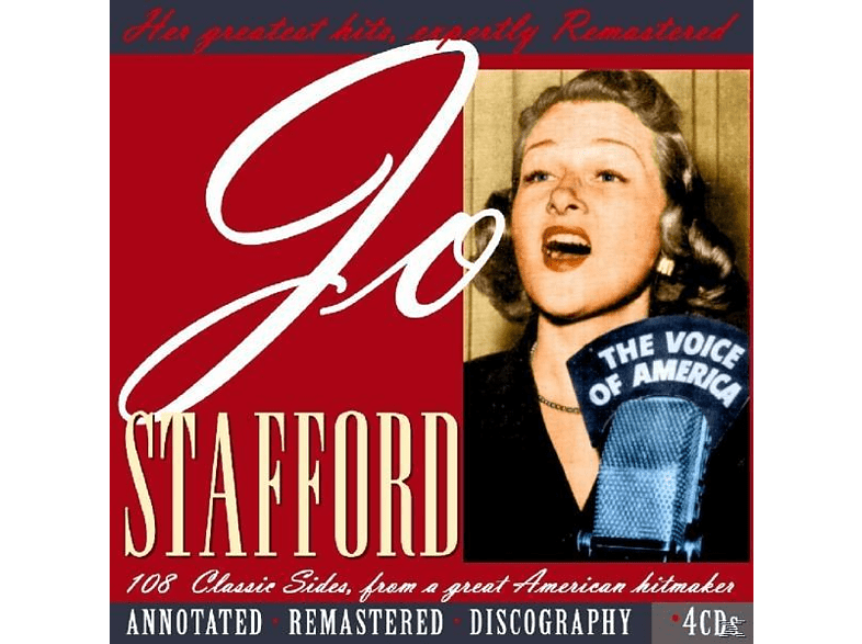 Jo Stafford - 108 Classic Sides From A Great Hitmaker [CD]