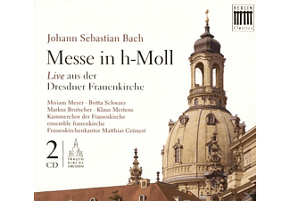VARIOUS - H-Moll-Messe, Bwv 232 (Frauenkirche) - (CD)