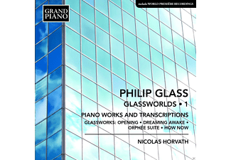 Nicolas Horvath - Glassworlds: Klavierwerke Vol.1 - (CD)
