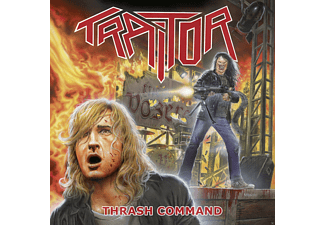 Traitor - Thrash Command (Ltd.Splatter Red/Black Vinyl) - (Vinyl)