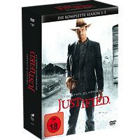 Justified - Staffel 1-5 [DVD]