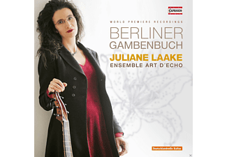 Juliane Laake, Ensemble Art d'Echo - Berliner Gambenbuch [CD]