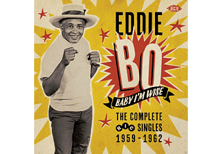 Eddie Bo - Baby I'm Wise - Complete Ric Singles 1959-1962 - (CD)
