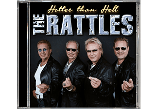 The Rattles - Hotter Than Hell-The Rattles [CD]