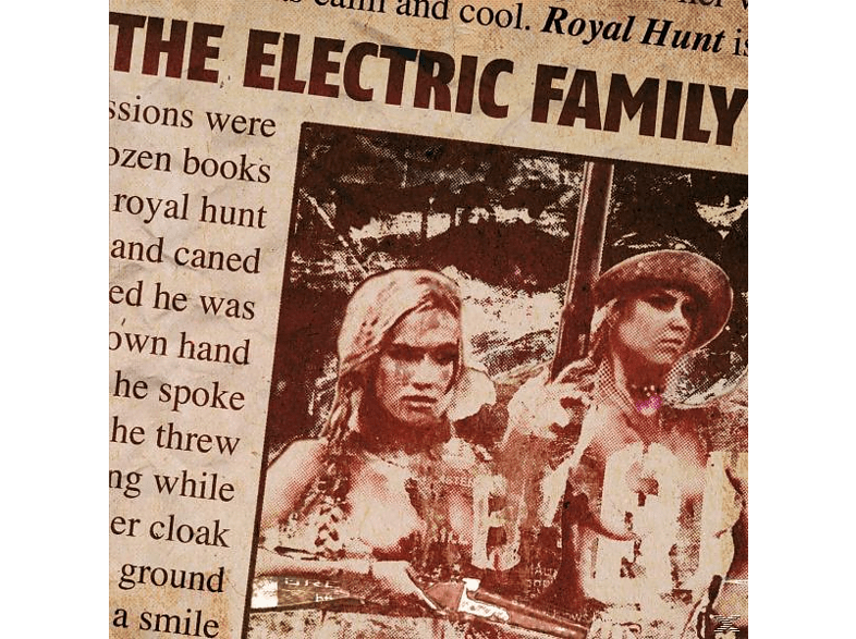 The Electric Family - Royal Hunt [CD]