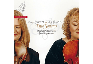 PODGER,RACHEL & ROGERS,JANE - Duo Sonatas - (CD)