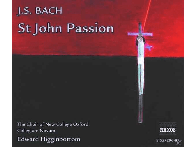 Edward/choir Of New College Oxford Higginbottom - Johannes-Passion [CD]