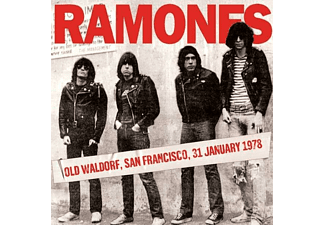 Ramones - Old Waldorf, Sf 31st January 1978 - (CD)