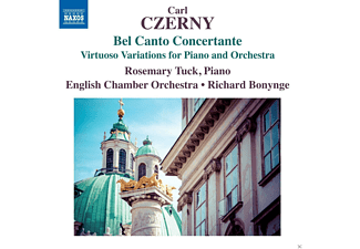 Rosemary Tuck, English Chamber Orchestra - Bel Canto Concertante: Var.F.Klavier & Orch. - (CD)