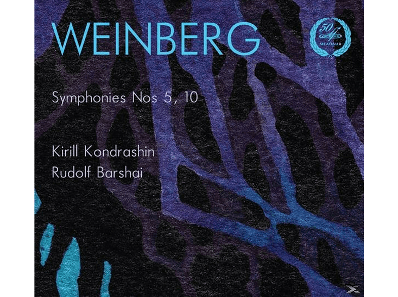 Symphony Orchestra Of Moscow State Philharmonic Society, Moscow Chamber Orchestra - Sinfonien 5 & 10 [CD]