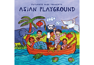 VARIOUS - Asian Playground - (CD)