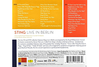 Sting, Royal Philharmonic Concert Orchestra - Sting - Sting Live In Berlin [CD + DVD Video]