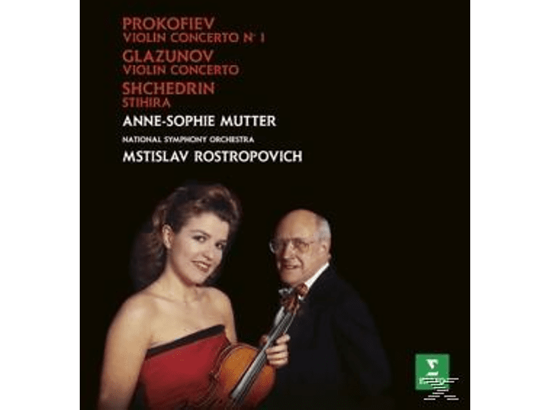 Anne-Sophie Mutter - Violinkonzerte [CD]