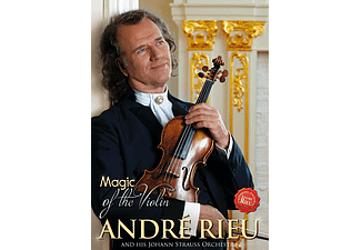 André Rieu, Johann Strauss Orchestra - Magic of The Violin (DVD)