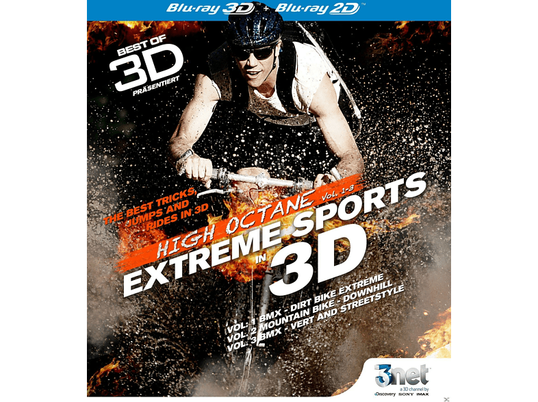 Best of 3D High Octane - Extreme Biking 3D [3D Blu-ray]